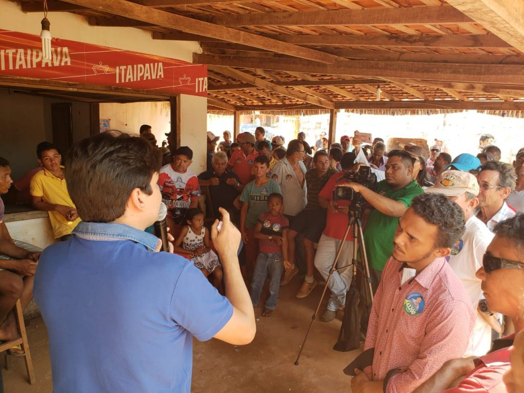 Victor Mendes cumpre agenda no interior maranhense