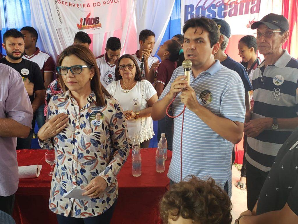 Victor Mendes intensifica visitas e reuniões no interior do Maranhão