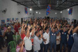 Zé Inácio recebe apoio em Paraibano e Mirador