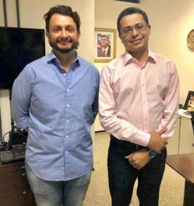 Leonardo Sá cobra conclusão do Centro de Hemodiálise, melhoria no atendimento do Hospital Dr. Jackson Lago e pagamento de médicos