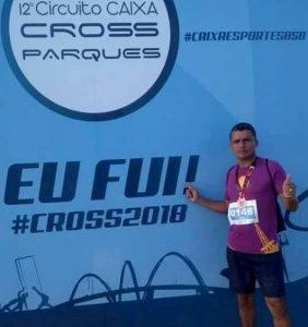 Sargento Ginaldo se destaca no  Circuito CAIXA Cross Parques em Brasília