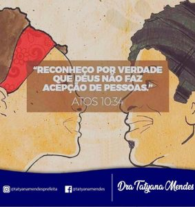 Porto Rico – Mensagem da Prefeita Tatyana Mendes no Dia da Consciência Negra