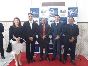 Presidente da Câmara de Pinheiro Elizeu de Tantan participa da posse  da nova diretoria da OAB Subseção Pinheiro
