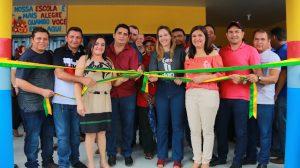 Prefeitura de Zé Doca inaugura escola ampla e moderna